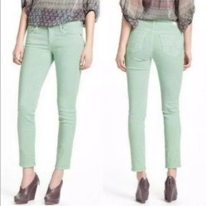 AG Adriano Goldschmied mint Stevie ankle jeans